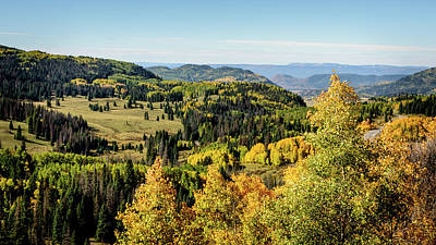 Photograph - Windy Point View - Cumbres Pass - Colorado 4 by Debra Martz