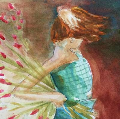 Painting - Windy Storm by Laura K Aiken