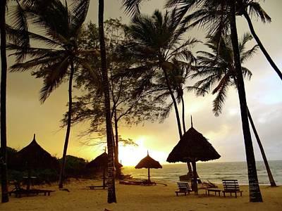 Exploramum Wall Art - Photograph - Windy Sunrise On The Beach In Kenya by Exploramum Exploramum