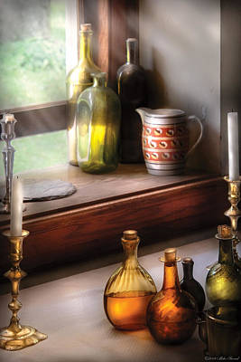 Kitchen Photograph - Wine - Care For A Nip by Mike Savad