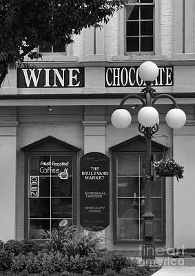 Photograph - Wine And Chocolate by Charles Owens