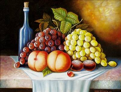 Painting - Wine And Dine by Gene Gregory