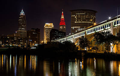 Photograph - Wine And Gold In Cleveland by Dale Kincaid