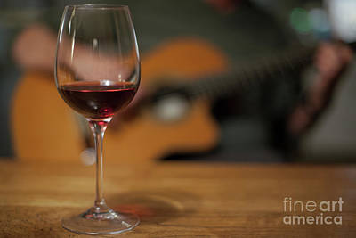 Photograph - Wine And Music by Patricia Hofmeester