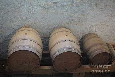 Photograph - Wine Barrels by Jimmy Clark