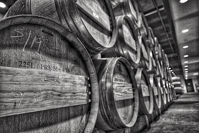 Photograph - Wine Barrels by Joseph Caban