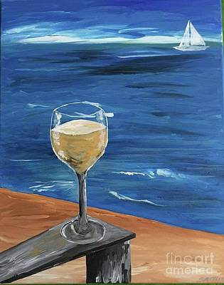Painting - Come Wine With Me by Sheila McPhee
