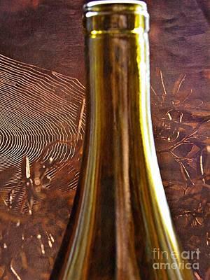 Photograph - Wine Bottles 17 by Sarah Loft