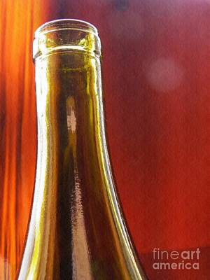 Photograph - Wine Bottles 4 by Sarah Loft