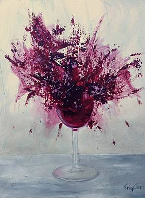 Painting - Wine Bouquet by T Fry-Green