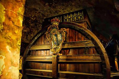Photograph - Wine Cask by Bill Howard