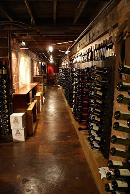 Photograph - Wine Cave by Ron Read