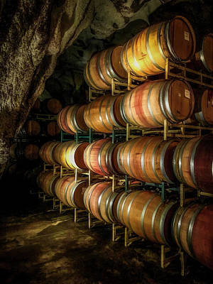 Photograph - Wine Cave by Steph Gabler