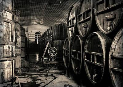 Wine Cellar 1939 Art Print