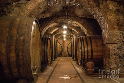 Photograph - Wine Cellar by Jennifer Ludlum