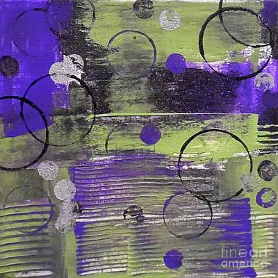 Depression Painting - Wine Cellar by Jilian Cramb - AMothersFineArt
