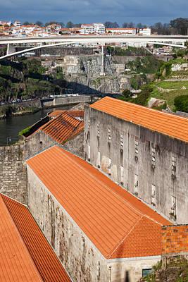 Wine Cellar Photograph - Wine Cellars In Vila Nova De Gaia By The Douro River by Artur Bogacki