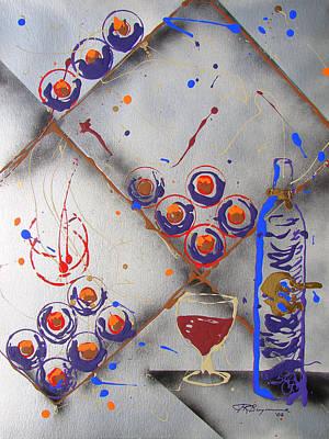 Wine Connoisseur Art Print