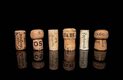 Photograph - Wine Corks No. 1 by Ryan Wyckoff