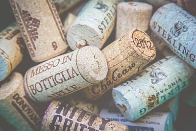 Art Print featuring the photograph Wine Corks by April Reppucci