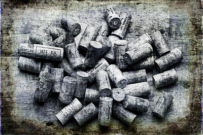 Photograph - Wine Corks by David Hare