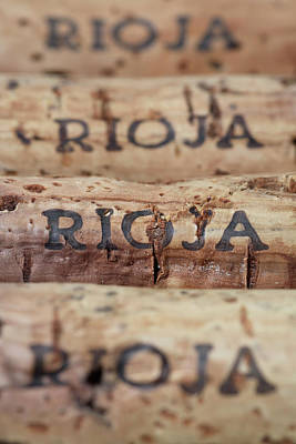 Photograph - Wine Corks From Rioja by Frank Tschakert