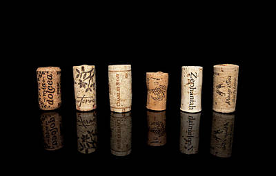 Photograph - Wine Corks No. 2 by Ryan Wyckoff