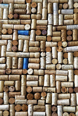Wine Bottle Wall Art Photograph - Wine Corks by Georgia Fowler