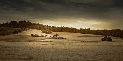 Photograph - Wine Country Farm by Don Schwartz
