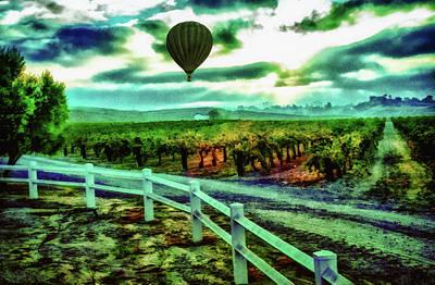 Wine Country Flight Art Print