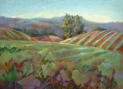 Wine Country Art Print by Joan  Jones