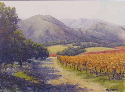 Painting - Wine Country by Marv Anderson