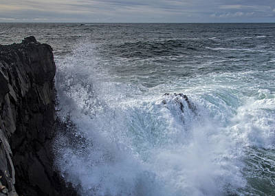 Photograph - Wine Dark Sea by Robert Potts