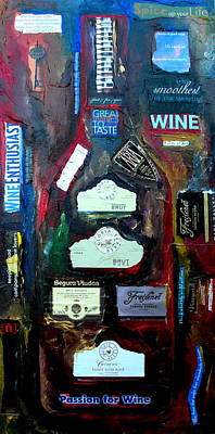 Painting - Wine Enthusiast by Patti Schermerhorn