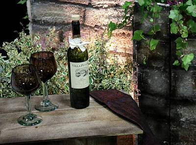 Photograph - Wine For Two by Living Color Photography Lorraine Lynch