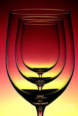 Wine Glass 4 Art Print by Rich Killion