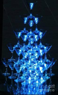 Wine Glass Pyramid Original by Crystal Loppie