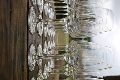 Photograph - Wine Glasses by Kelly Smith