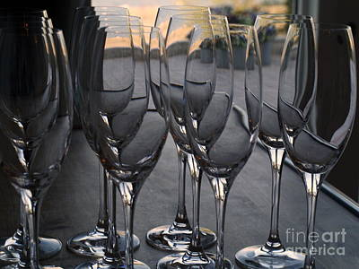 Photograph - Wine Glasses by Michael Canning