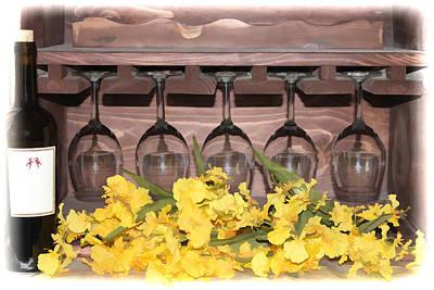 Photograph - Wine Glasses by Pamela Walton