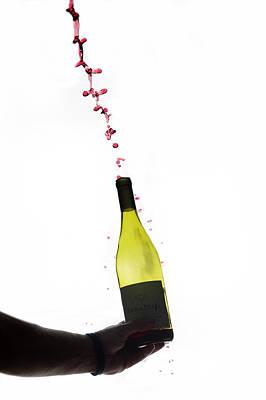 Photograph - Wine In A Bottle by Dan Friend