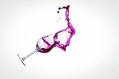 Mess Photograph - Wine In Free Fall - 16 by Mark A Hunter
