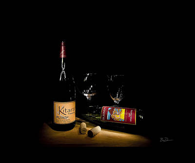 Photograph - Wine Light by Barry C Donovan