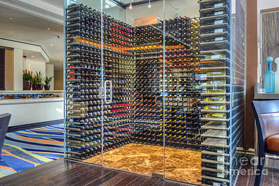 Photograph - Wine Locker by David Zanzinger