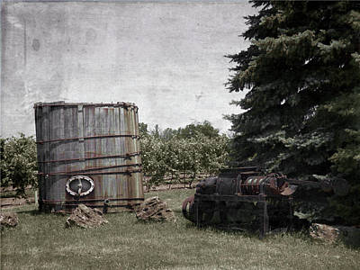 Photograph - Wine Making - Vintage by Leslie Montgomery