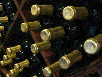 Photograph - Wine Rack by Carolyn Jacob