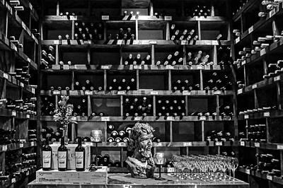 Photograph - Wine Room by Nikolyn McDonald