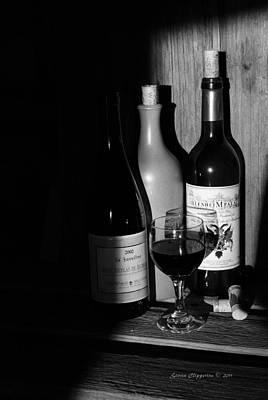 Wine Sampling Art Print by Steven Clipperton
