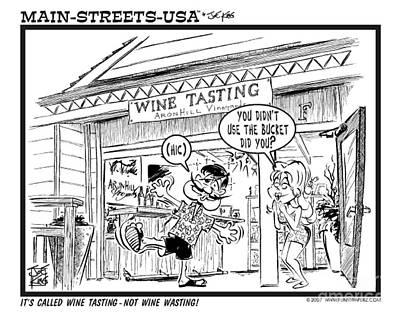 Wine Tasting Art Print by Joe King