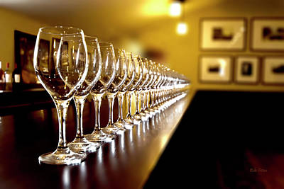 Photograph - Wine Tasting by Mike Braun